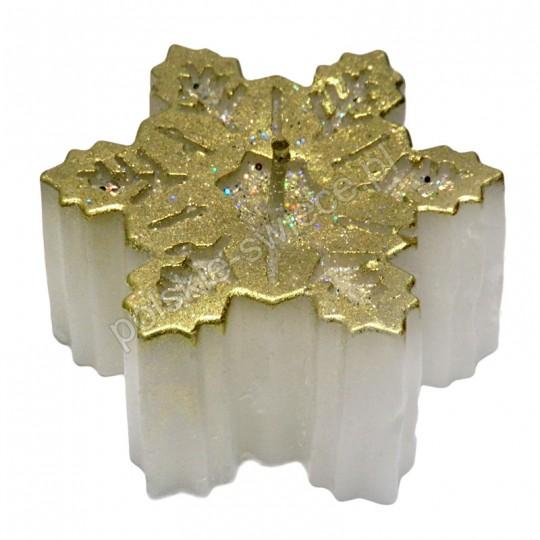 Świeca Gwiazda Betlejemska złota