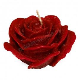 Świeca róża MAXI 110/60