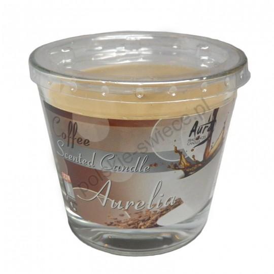 Duża świeca zapachowa - kawa