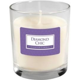 Świeca perfumowana w szkle DIAMOND CHIC
