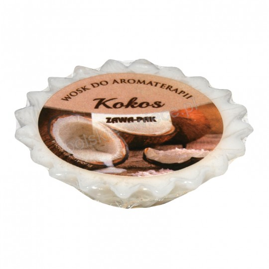 """Wosk zapachowy """" Kokos """" 50 mm"""