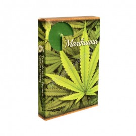"""Podgrzewacze zapachowe """" Marihuana """" 6 szt"""