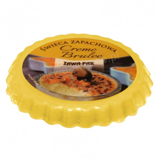 """Wosk zapachowy """"Creme Brulee"""" 80 mm"""