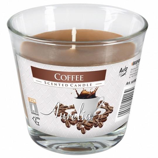 Duża świeca zapachowa Kawa