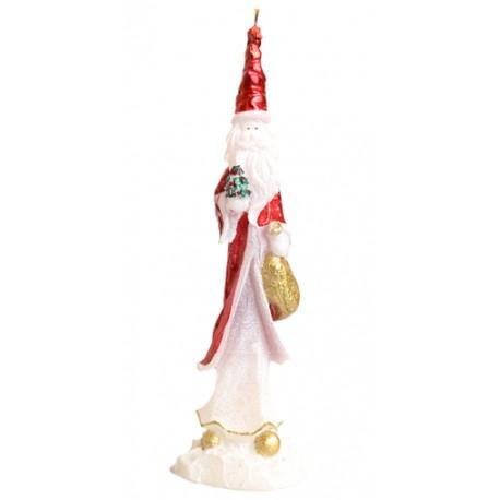 Świeca świąteczna Mikołaj