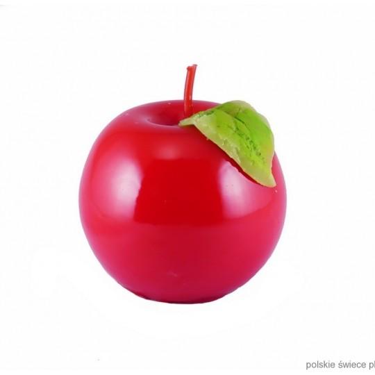 Świeca jabłko średnie