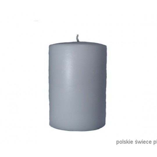Świeca walec szara 100/150