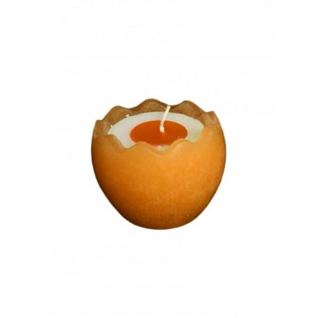 Świeca jajko w skorupce