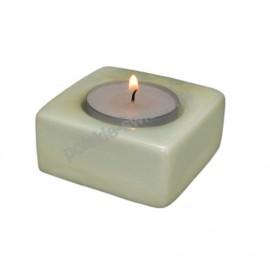 Świecznik TEALIGHT perła green 65/65/20