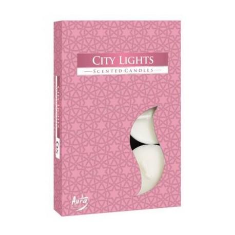 Podgrzewacze perfumowane City Lights 6 szt