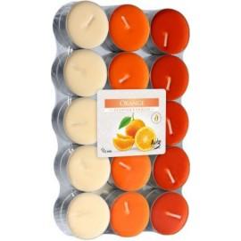 Podgrzewacze zapachowe Pomarańcza 30 szt ~4h