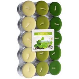 Podgrzewacze zapachowe Zielona Herbata 30 szt ~4h