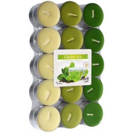 Podgrzewacze Zielona Herbata 30 szt