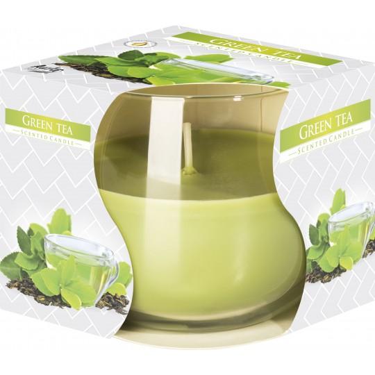 """Świeca w szkle """" Zielona Herbata"""""""