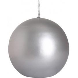 Świeca kula metalizowana 80mm, kolory
