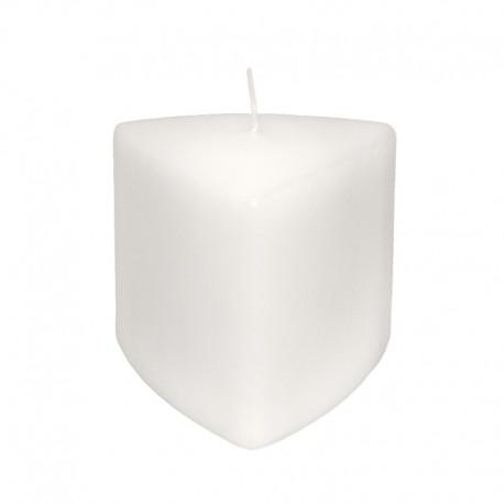 Świeca klasyczna trójkąt 110/100 biała