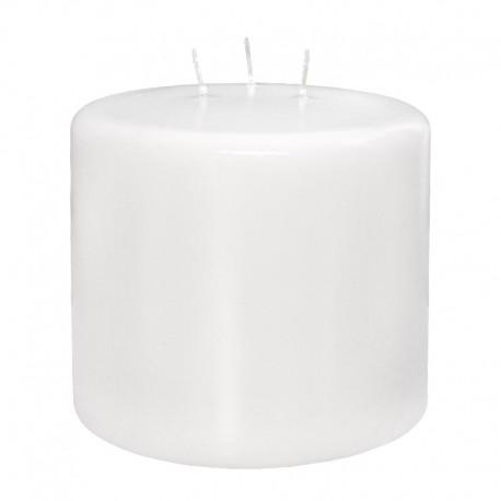 Świeca walex XXL 120/105 biała 3 knoty