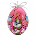 Duże jajko Wielkanocne, ręcznie malowane !!!