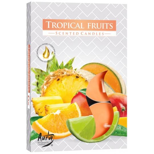 """Podgrzewacze zapachowe """"Owoce tropikalne"""" 6 szt"""