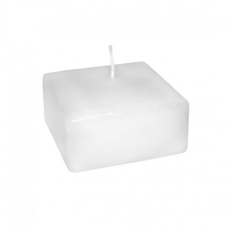 Świeca klasyczna kwadrat 80/50 biała