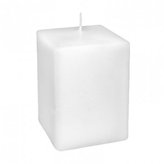 Świeca klasyczna kwadrat 80/120 biała