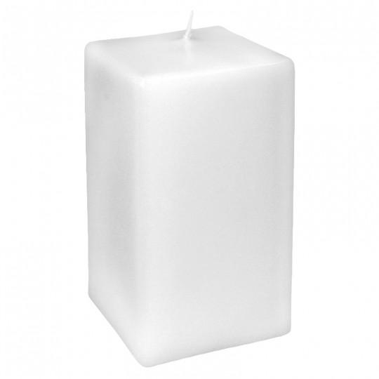 Świeca klasyczna kwadrat 80/160 biała
