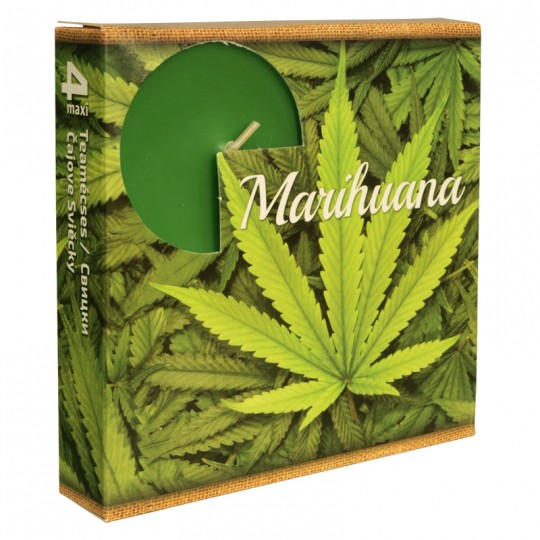 "Podgrzewacze MAXI "" Marihuana "" 4 szt"