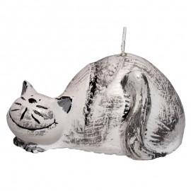 Świeca Kot szary