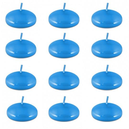 Świece pływające małe 12 sztuk