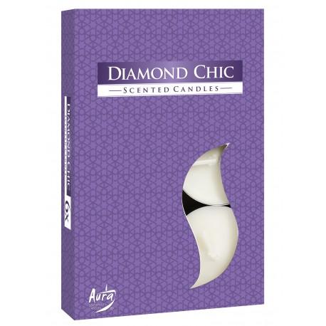 Podgrzewacze perfumowane Diamond Chic 6 szt