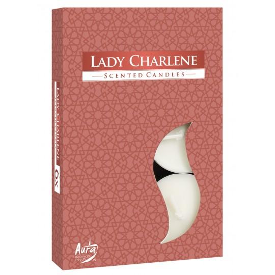Podgrzewacze perfumowane Lady Charlene 6 szt
