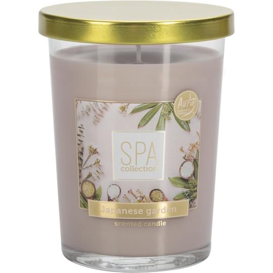 Świeca zapachowa w szkle SPA COLLECTION Ogród Japoński