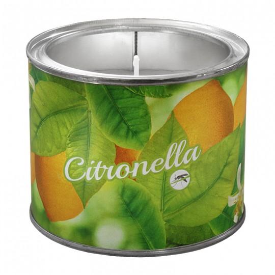 Duża świeca Zapachowa W Puszce Citronella Duża świeca Zapachowa W Puszce Citronella