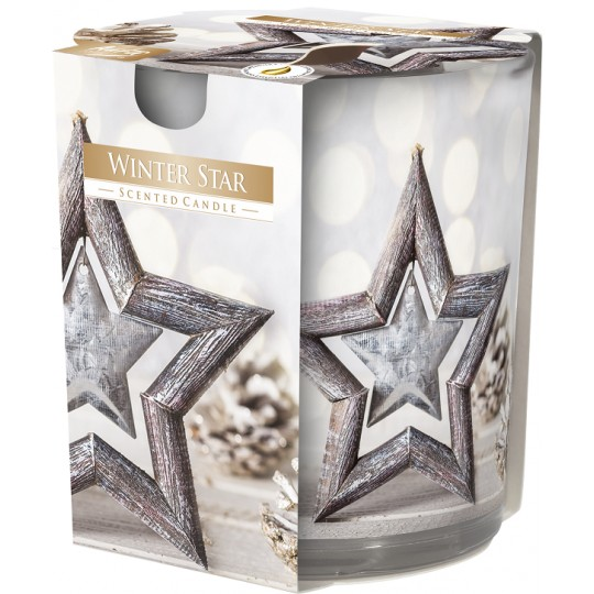 Świeca zapachowa w szkle WINTER STAR