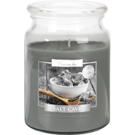 Duża świeca zapachowa XXL z wieczkiem GROTA SOLNA