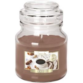 """Świeca w szkle z wieczkiem """" Kawa"""""""