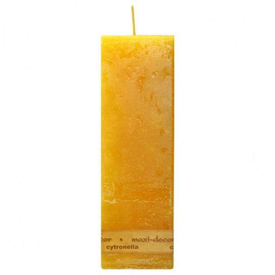 Świeca rustik 70/215 citronella