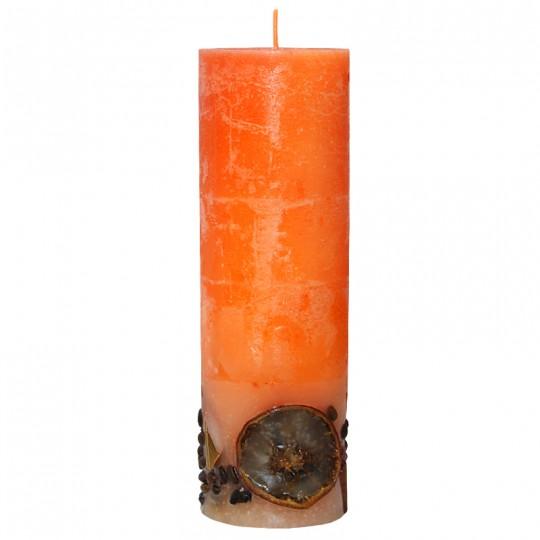 Duża świeca rustik owocowy 70/215