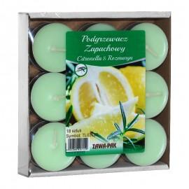 Podgrzewacze zapachowe Citronella z Rozmarynem 18 szt.