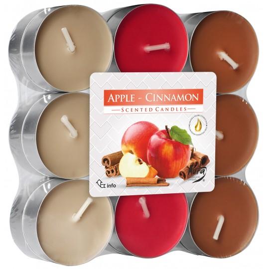 """Podgrzewacze """" Jabłko-Cynamon"""" 18 szt ~ 4 h"""
