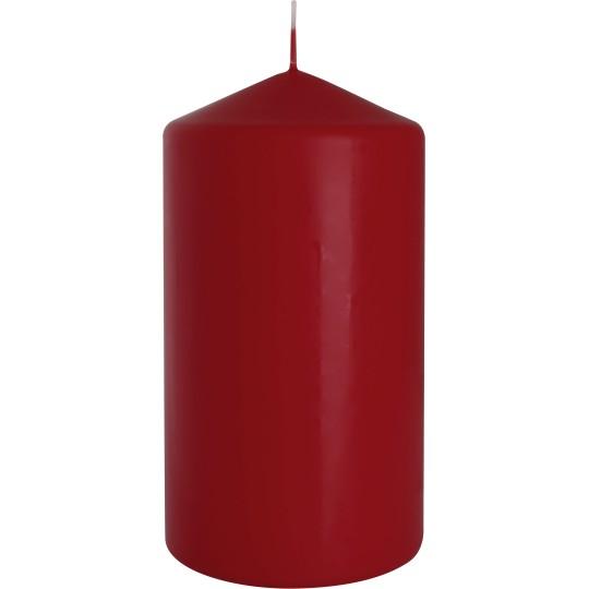Świeca walec 80/150 burgund