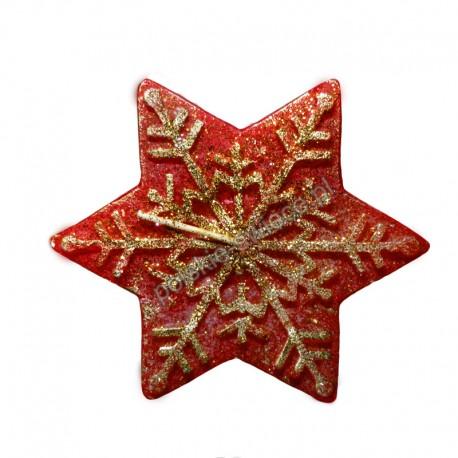 Świeca gwiazda duża czerwona