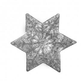 Świeca gwiazda duża biała